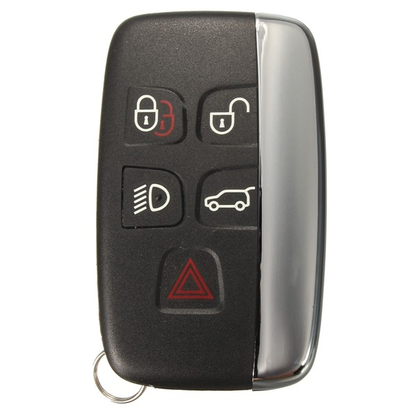 5 Button Remote Fob Key Case Shell For Land Rover Lr4 Range Rover