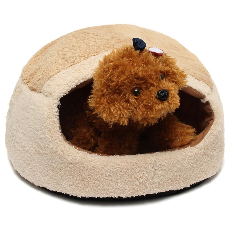 Warm Comfortable Pet Cat Doggie Dog Kennel House Sleeping ...