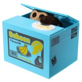 Novelty Creative Piggy Bank Monkey Steal Money Coins Saving Box