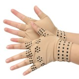 Half Finger Magnetic Joint Glove Hand Support Pain Relief Arthritis Compression
