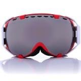 Motorcycle Spherical Anti-fog UV Dual Lens Grey Snowboard Ski Goggles Glasses Unisex
