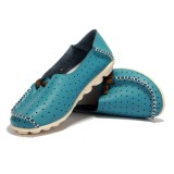 Women Casual Flat Shoes Slip On Ballerina Flats Hollow Out Flat Loafers