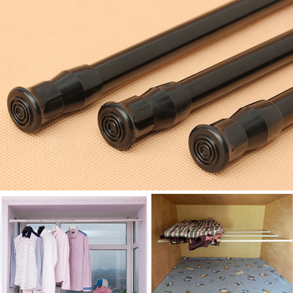 decorators p store l spring oil sets tension rubbed rods home sku rod collection bronze curtain in