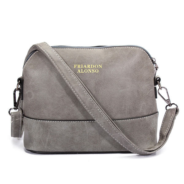 Women Nubuck Shell Bags Girls Vintage Shoulder Bags Crossbody Bags ...