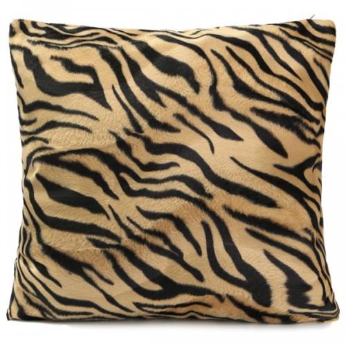 Leopard Animal Print Pattern Pillow Case Sofa Waist Throw