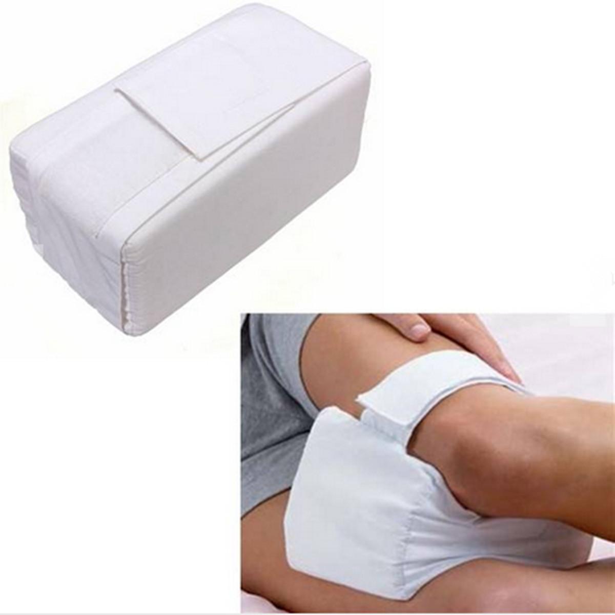 soft cotton leg knee ease kneecap pillow sponge bed back leg pain