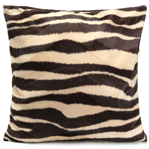 Animal Print Throw Pillow Covers : Leopard Animal Print Pattern Pillow Case Sofa Waist Throw Cushion Cover Home Decoration Alex NLD