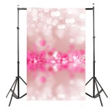 5x7FT Vinyl Pink Abstract Halo Theme Studio Photography Backdrop Photo Background