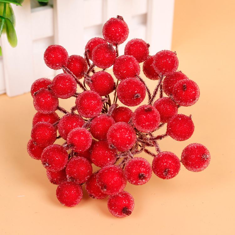 20pcs artificial simulation foam berry pomegranate fruit for Artificial pomegranate decoration