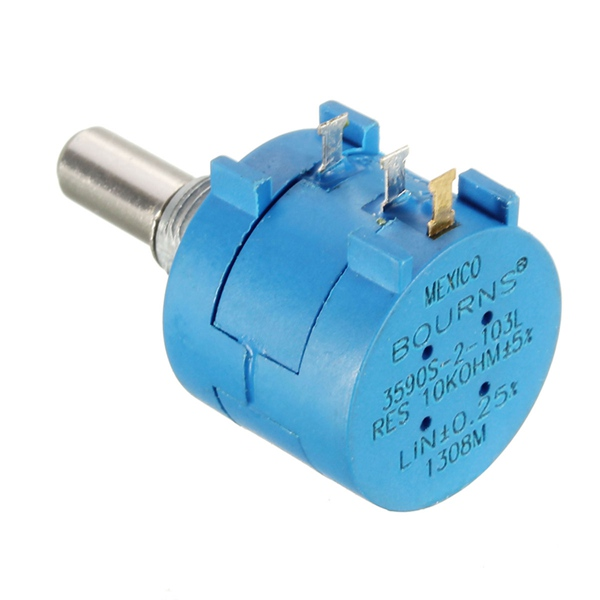 Astounding 3590S 2 103L 10K Ohm Bourns Rotary Wirewound Precision Potentiometer Wiring Cloud Hisonuggs Outletorg