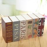 Children Kids Cash Money Bank Jewelry Storage Case Simulation Dictionary Pattern Security Safe Box