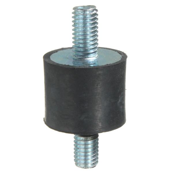 4pcs M8 20x25mm Rubber Shock Absorber Rubber Vibration