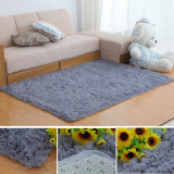 80x160cm Bedroom Living Room Soft Shaggy Anti Slip Carpet Absorbent Mat