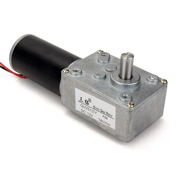 Gw31zy worm reducer gear dc motor high torque low speed for High torque low speed dc motor