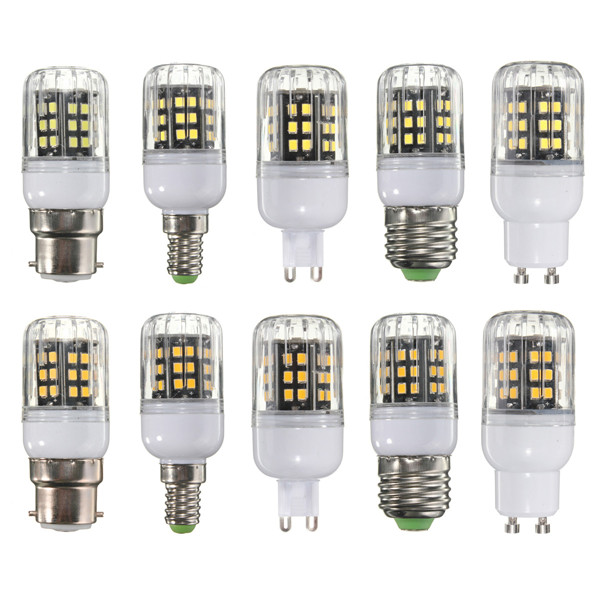 e27 e14 b22 g9 gu10 10w 42 led 2835 smd cover corn light lamp bulb ac 110. Black Bedroom Furniture Sets. Home Design Ideas