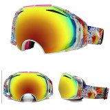 Eddie Fox Ski Goggles Double Permanentant Anti-Gog Lens Motorcycle Glasses Spherical
