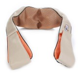 Car Home 3D Kneading Pillow Infrared Heating Massager Acupuncture Neck Shoulder Massage Cushion