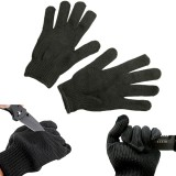 Maxcatch Durable Protective Fishing Gloves Tuff-Knit Yarn Anti-cut Fishing Gloves