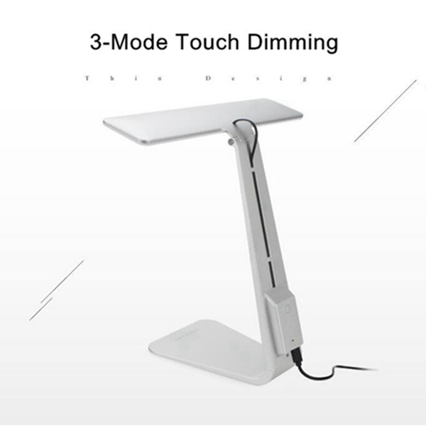 Ultrathin Led Dimming Touch Reading Table Lamp Usb Eye Protection