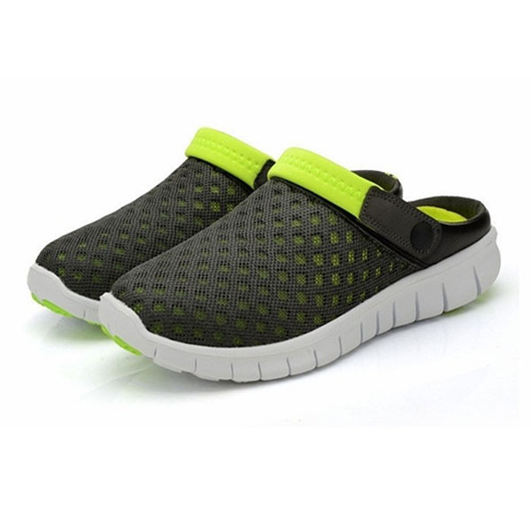 Fashion Flat Shoes Man Sandal Slip-on Slippers Comfortable Breathable Shoes FB