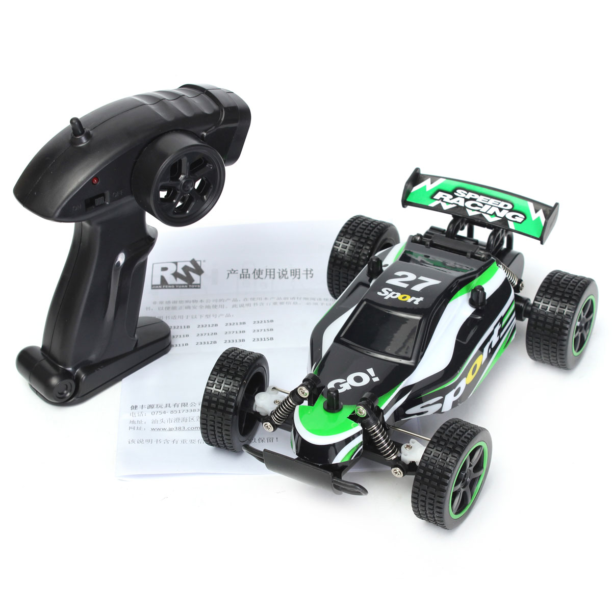 Lithium Car Battery >> 1/20 2WD 2.4G High Speed RC Racing Buggy Car Off Road RTR | Alexnld.com