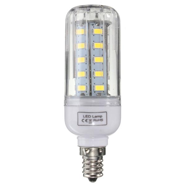 E27/E14/E12/B22/G9/GU10 Dimmable 4W AC110V LED Bulb White ...