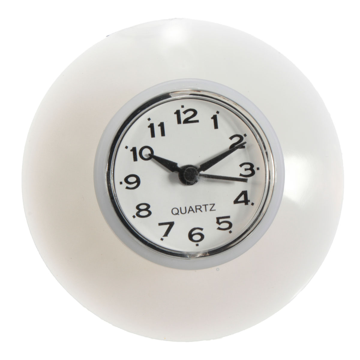 Bathroom Waterproof Wall Clock Resistant Timer Suction Cup | Alexnld.com