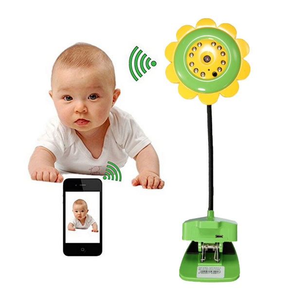Sunflower Wireless WiFi IP Camera Video Monitor Night ...