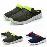 Men Sandals Slipper Comfortable Breathable Slip On Beach Sandals Flats Summer Slipper