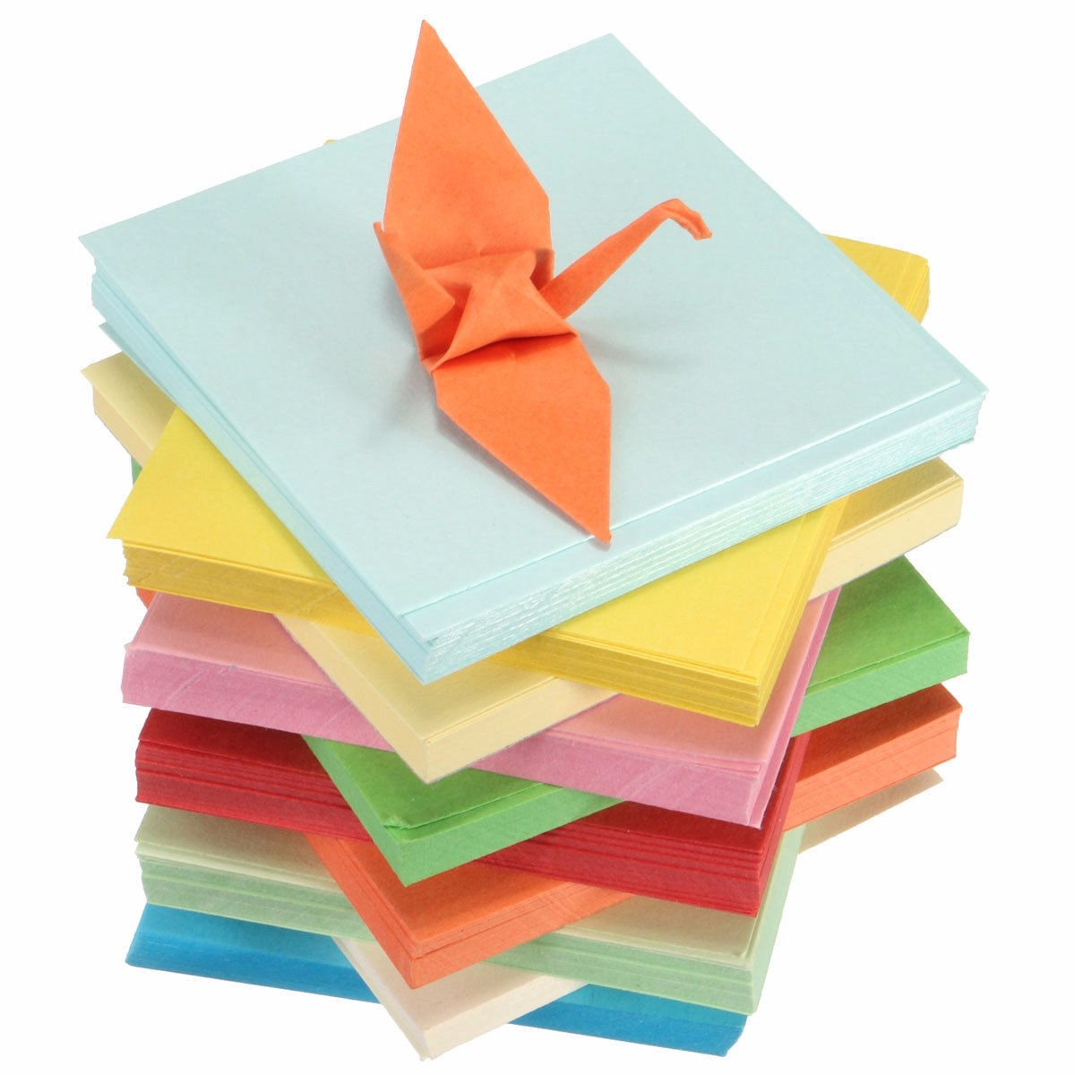 DIY Square Double Sided Origami Folding Lucky Wish Paper ... - photo#42