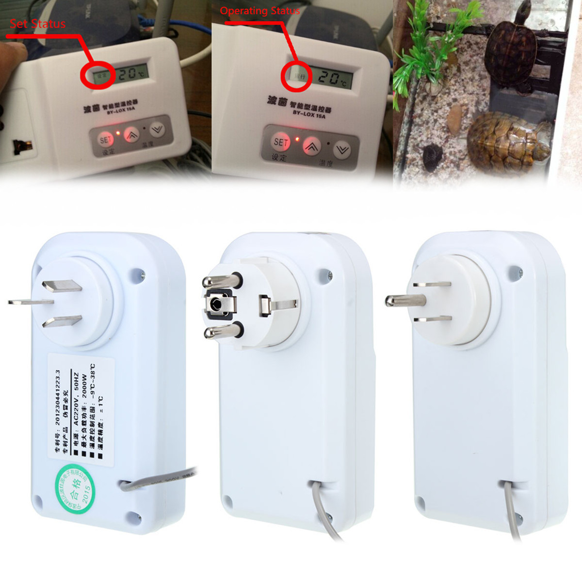 Refrigerator Thermostat Temperature Controller For Aquarium Greenhouse #BF0D0C