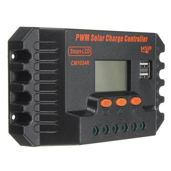 pwm solar charge controller instructions