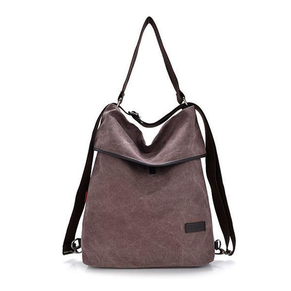 Women Canvas Handbags Girls Casual Shoulder Bags Backpacks Crossbody ... c4783c282ed42