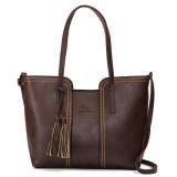 Women Retro Tassel Tote Bags Ladies Casual Shoulder Bags Crossbody Bags
