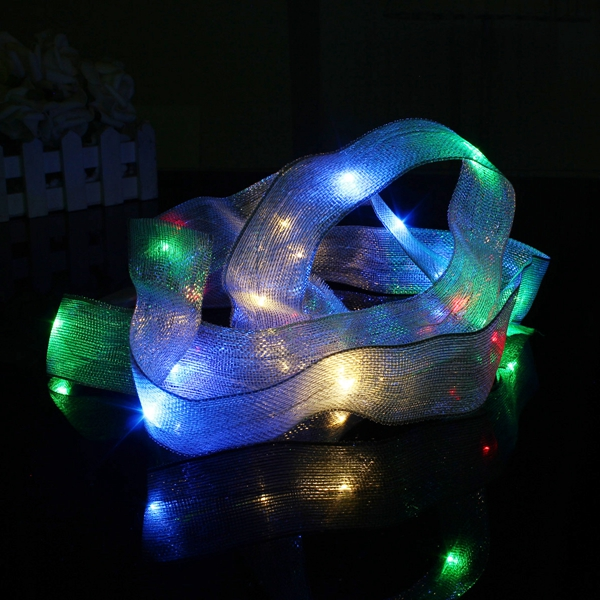 2M 20 LED Ribbon String Fairy Light Battery Powered Party Xmas Wedding Decoration Lamp Alex NLD