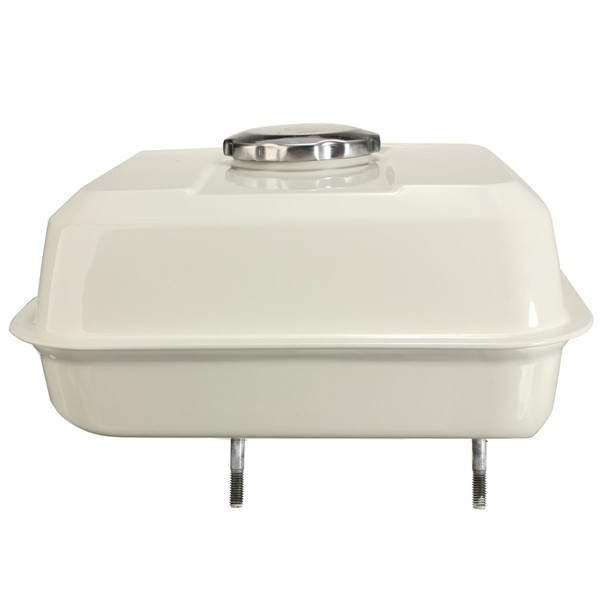 Fuel gas tank with petcock gas cap filter white for honda for 2016 honda civic gas tank size