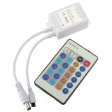 12V 10M 100LED Silver Wire Xmas String Fairy Light Remote Controller with Adapter