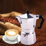 Aluminum Moka Espresso Latte Percolator Stove Coffee Maker Pot Coffee Percolators