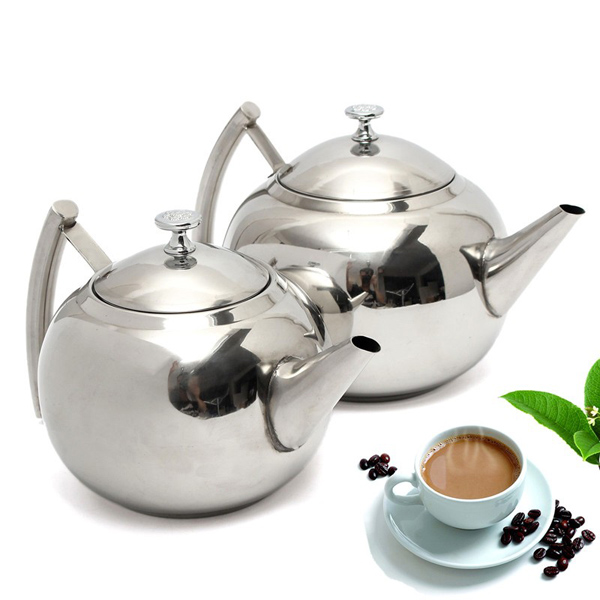 Coffee Maker Stainless Steel Pot : 1500ML/2000ML Stainless Steel Teapot Coffee Maker Pot Alex NLD