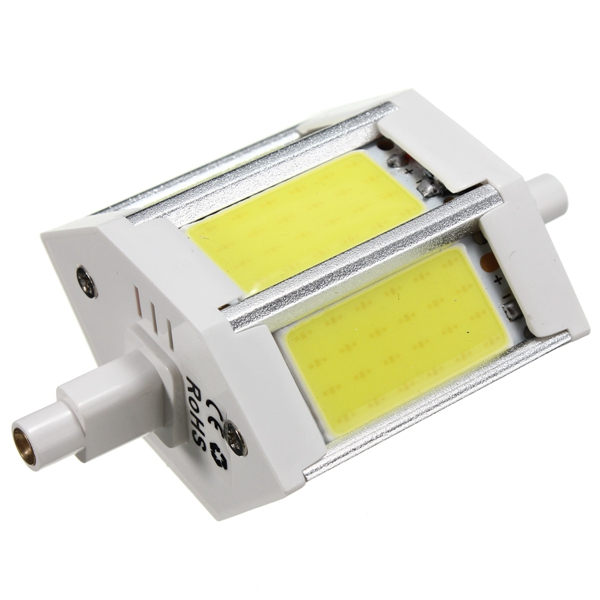 dimmable r7s 78mm 10w cob smd white warm white led. Black Bedroom Furniture Sets. Home Design Ideas