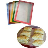 Food grade Silicone Baking Mat Pad Fiberglass Non-stick Baking Cake Cookie Bread Mat