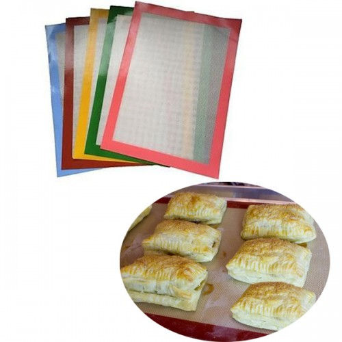 Food grade Silicone Baking Mat Pad Fiberglass Non-stick Baking Cake Cookie Bread Mat