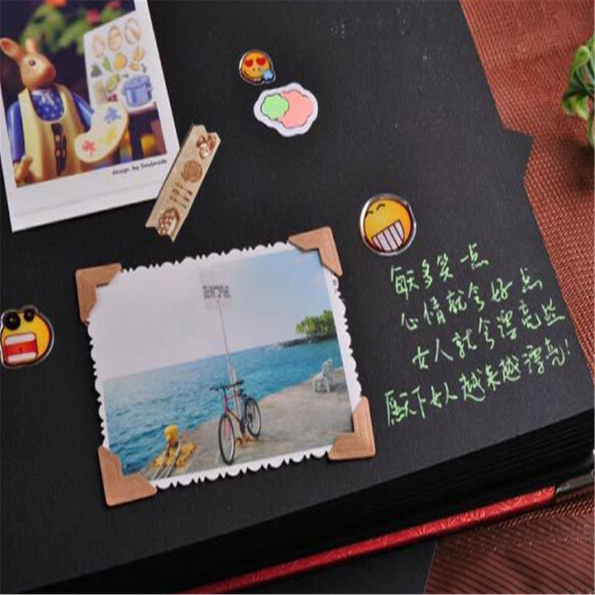 New Diy Handmade Creative Albums Romantic Souvenir: DIY Retro Photo Albums Handmade Manual Creative Couple