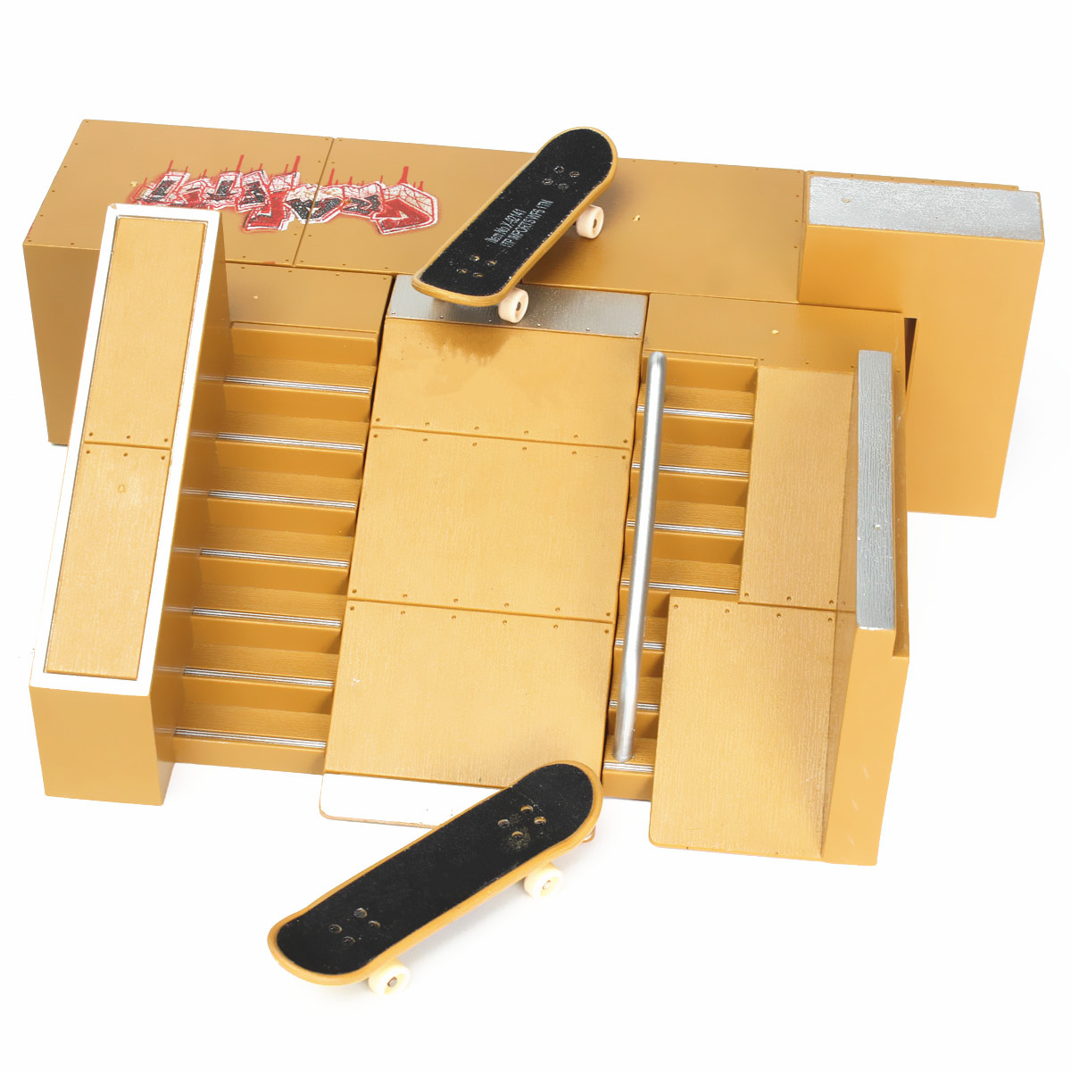 Skate park ramp parts for tech deck fingerboard finger board ultimate parks 91c alex nld - Tech deck finger skateboards ...