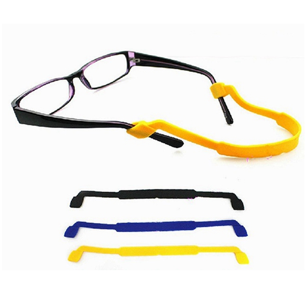 Silica gel Elastic Antislip Glasses Strap Swimming Sports ...