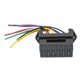JZ5702 Jiazhan Car 6 Way Fuse Box 6 Road With Wire Modification Basic Block Auto Fuse Holder