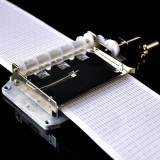 30 Tones DIY Hand Cranked Music Box Movement with Hole Puncher and Paper Tapes