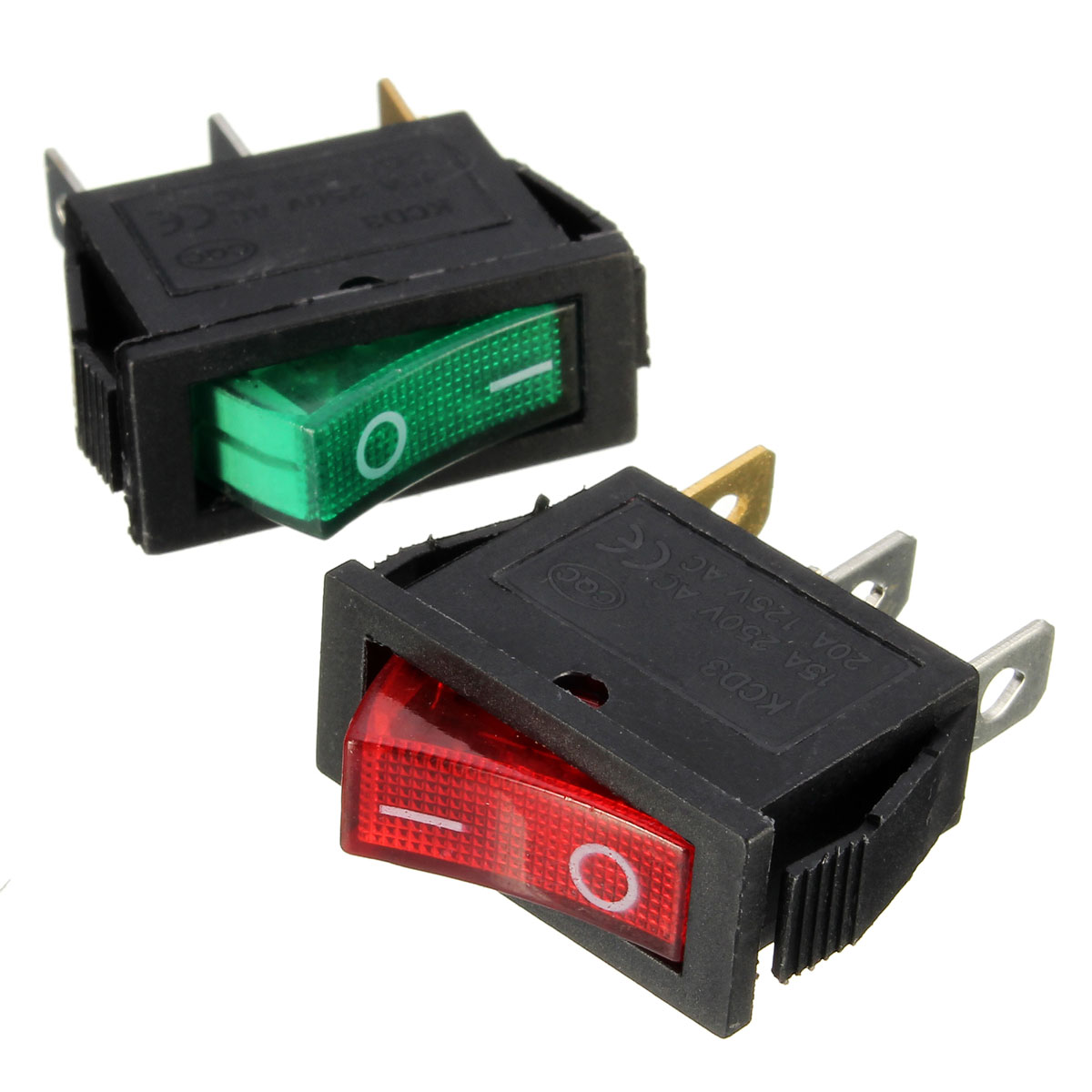 Spst Rocker Switch Lighted Golfclub 12v All Electronics Corp Large Rectangle Led Car Dash Boat 3