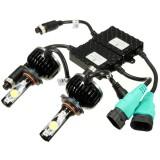 60W 5000K 4800LM White LED Headlight Kit 9004 9005 9006 H4 H13 Light Bulbs