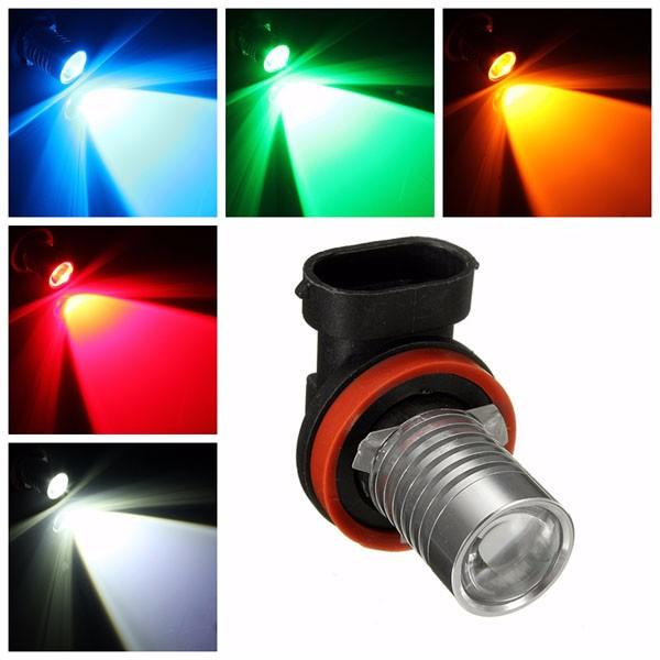h8 9005 5w led projector fog daytime light l bulb alex nld
